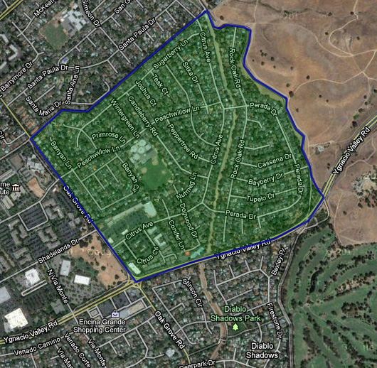 Woodlands Neighborhood Map